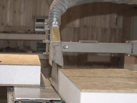 Как происходит раскрой СИП панелей любой геометрии