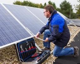 Установка солнечных батарей в Украине