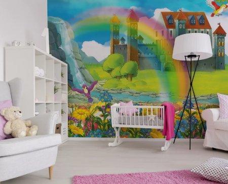Фотообои для детской комнаты от компании Ottenki в широком ассортименте