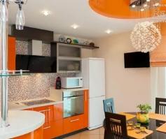 Преимущества оформления кухни под ключ в салоне
