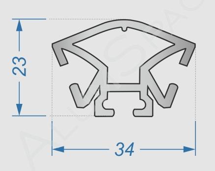 Для чего нужен алюминиевый профиль для торговых систем