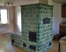 Печь в доме и ее отделка