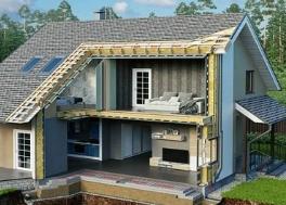 Как построить теплый каркасный дом