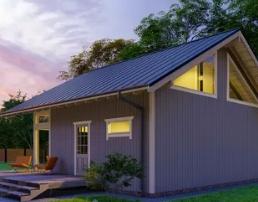 Проект дачного дома: техника эффективной экономии